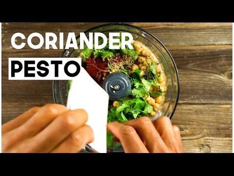 Green Dharma Coriander Pesto | Vegan (oil-free, no added sugar)