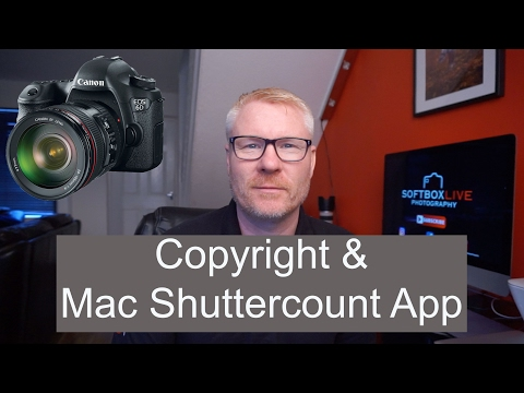 Photo Software - DSLR Shuttercount App For MAC.