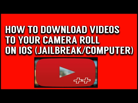 HOW TO DOWNLOAD YOUTUBE VIDEOS ONTO CAMERA ROLL ON IOS 9/10 (NO JAILBREAK/PC)