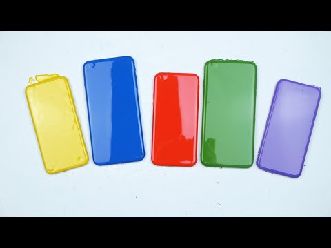 Learning Colors with iPhone 6S's for Kids!
