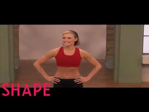Lower Body Workout | Jessica Smith Workouts | Shape