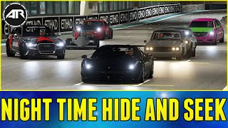 Forza 6 Online : NIGHT TIME HIDE AND SEEK!!! w/ AR12 ARMY