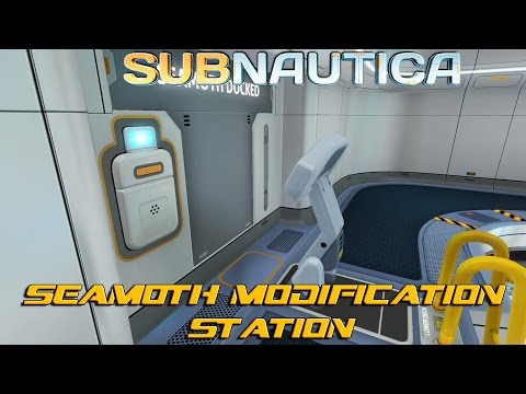 Seamoth Modification Station! : Subnautica (EP7)