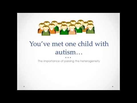 A Genetics First Approach to Parsing the Heterogeneity of Autism