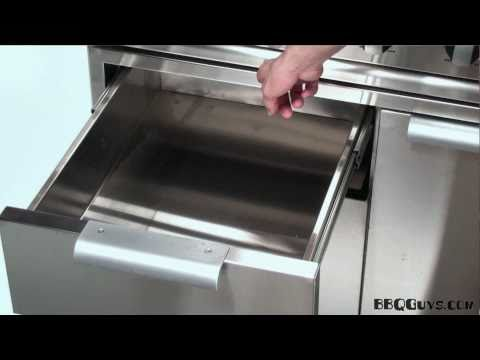 DCS Gas Grill Cart Features - By BBQGuys.com