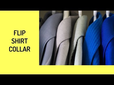 How To Flip Shirt Collar
