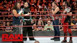 The Hardy Boyz congratulate new Raw Tag Team Champions Rollins & Ambrose: Raw, Aug. 21, 2017