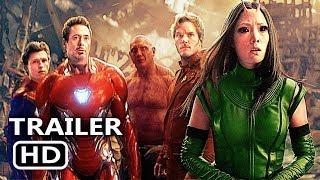 "AVENGERS: INFINITY WAR ""World VS Thanos"" TV Spot Trailer (New, 2018) Superhero Movie HD"
