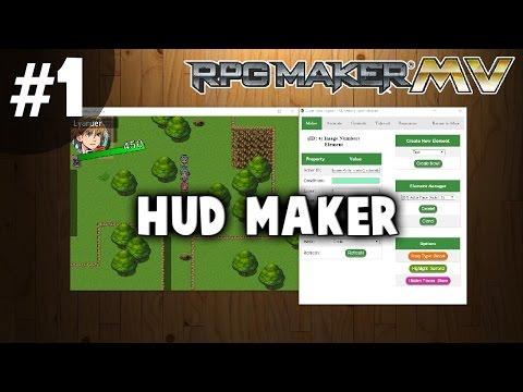 HUD Maker Tutorial #1 - Basic Mechanics and Controls
