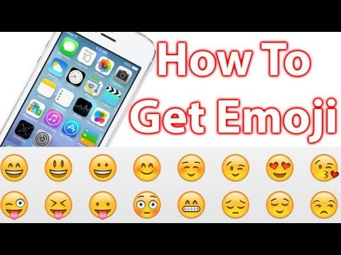 How To Get Emoji On The iPhone, iPad and iPod Touch