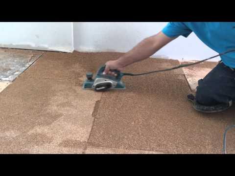 Easy Way to Level Subfloor before Hardwood Floor Installation