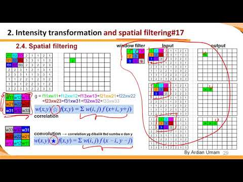 2.08 - Spatial Filtering: Cara Kerja Konvolusi & Korelasi serta Cara Mengatasi Border Issue