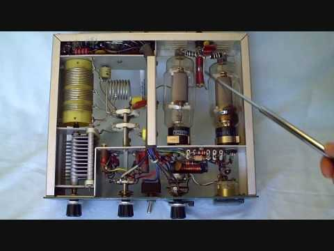 Heathkit HA 14 Linear Amplifier tutorial