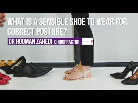 Sensible Shoes For Correct Posture: Sydney Chiropractic Advice