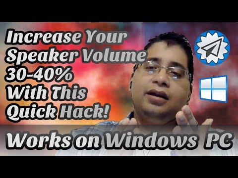 Increase PC Speaker Volume 30-40% / Tested on Win 7 + RealTek Soundcard