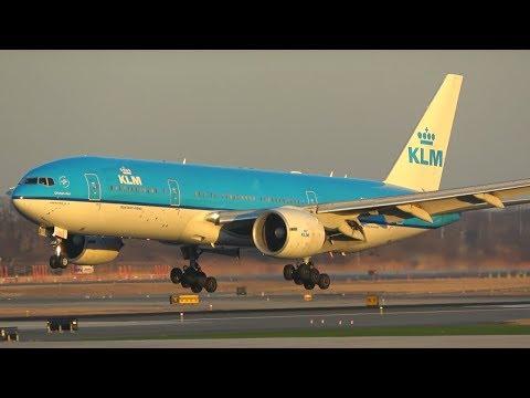 (4K) Evening Arrivals into JFK