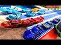 DISNEY CARS DINOCO 400 VS PISTON CUP RACERS VS NEST-GEN PISTON CUP RACERS 🚗🏎🚙🏆CAMPEONATO🏆🚗🏎🚙