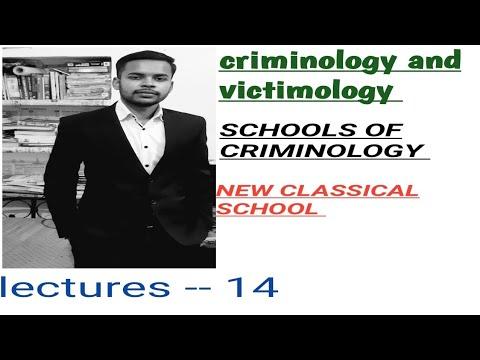 NEW CLASSICAL SCHOOLS !! CRIMINOLOGY AND PENOLOGY CLASSES IN HINDI ! IPC BASICS ( INDIAN PENAL CODE)