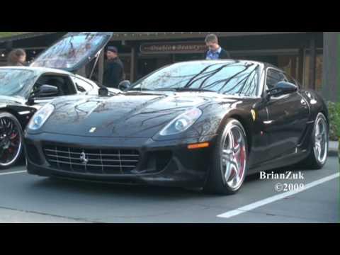 Exotic Car Show - Lamborghini Ferrari Vector Maserati Porsche & more