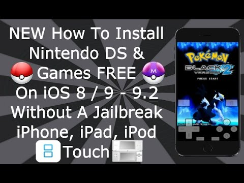 Install Nintendo DS & Games FREE iOS 9 / 10 / 11 - 11.3.1 NO Jailbreak iPhone iPad iPod NDS4iOS