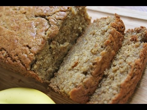 HEALTHY MOIST BANANA BREAD (DIVAS CAN COOK) LOW CALORIE LOW CARB