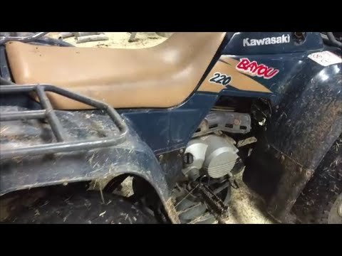 How to change Oil & Filter in a 4 wheeler ATV