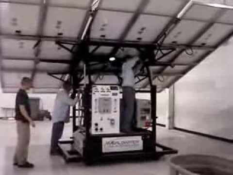 Ampac USA Mobile Solar Power Reverse Osmosis Water Treatment Systems