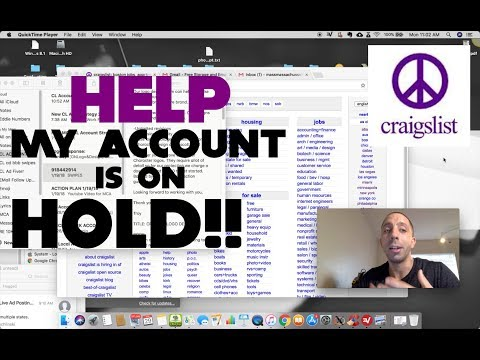 How To Stop Craigslist Account Hold 2018