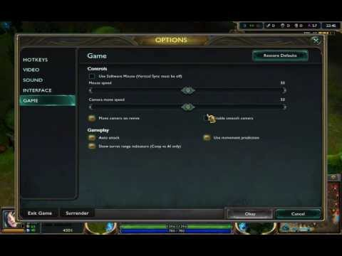 League of legends Reducing lag time for MAC, Windows