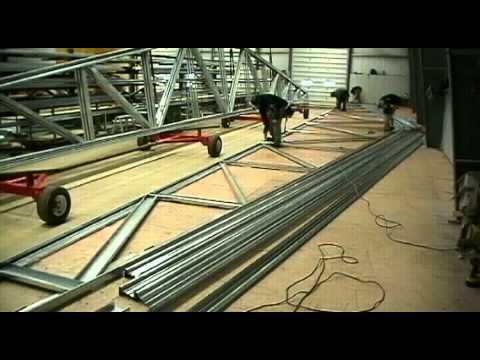 Steel truss - 30m (100')