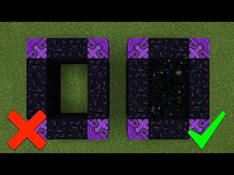 How To Make a Portal to the Wither Storm Dimension in Minecraft Pocket Edition