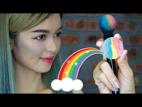 DIY Prism Rainbow Highlighter