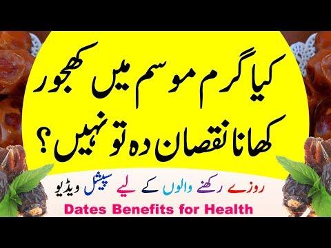 Khajoor /Dates Benefits for Health Problems Like Heart, Blood Pressure, Bawaseer In Ramzan or Summer