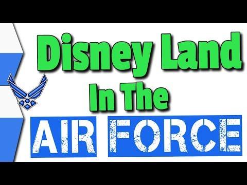 My Last Air Force DEP call.. Sent To DisneyLand?