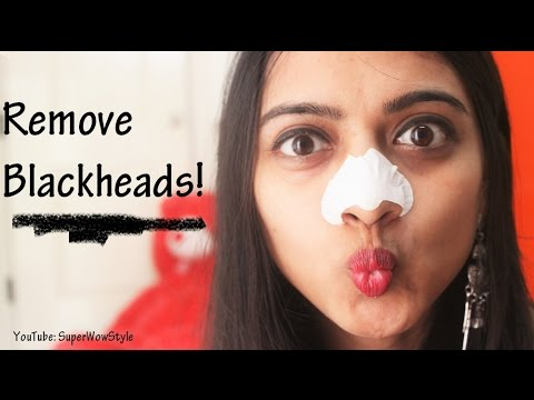 How to Remove Blackheads From Nose & Face | Pore Strips at Home | Superwowstyle