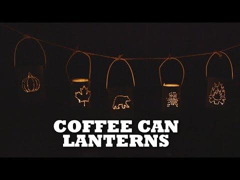 DIY Coffee Can Lantern