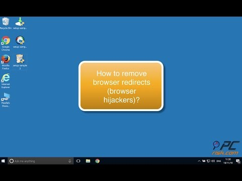 How to remove browser redirects (browser hijackers)?