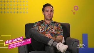 Pete Wentz on Brendon Urie