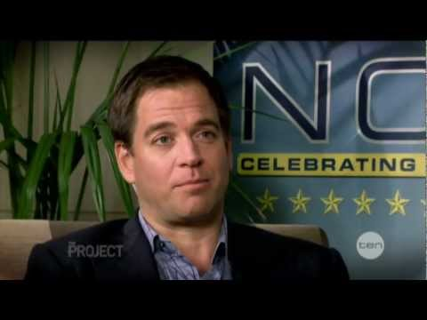 Michael Weatherly interview on The Project (2012)