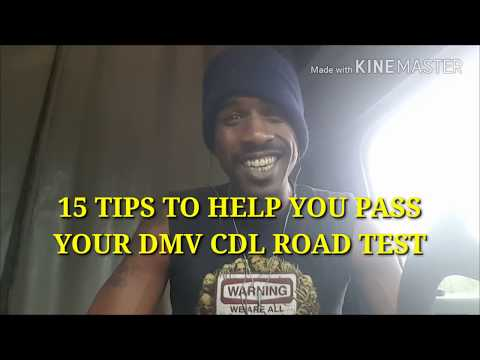 Pass your cdl road test