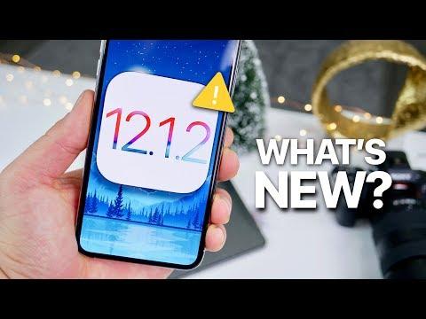 iOS 12.1.2 Beta 1! WARNING & What's New?