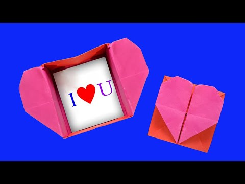 Origami: Heart Box and Envelope