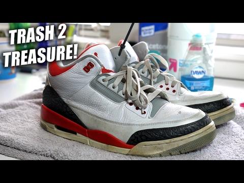 Thrifted Jordan Fire Red 3 Restoration!! A Quick Thrift Fix!