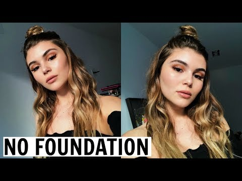 FLAWLESS SKIN WITH NO FOUNDATION TUTORIAL l Olivia Jade