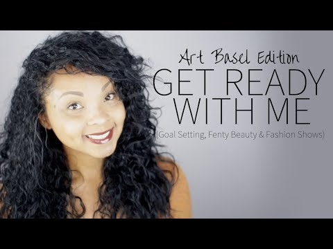 GRWM: Trying Fenty Beauty, Fashion Shows and Goal Setting for 2018