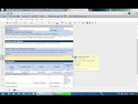 SGOs - Resolving a comment