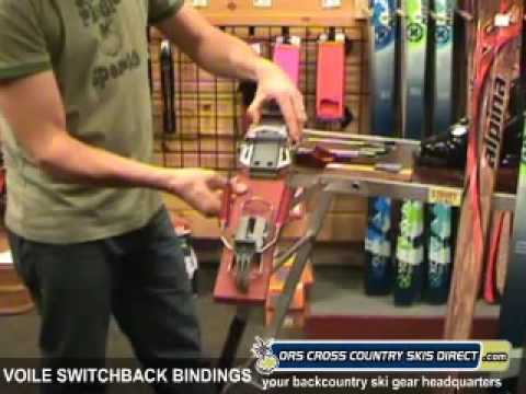 Voile SwitchBack Telemark Ski Bindings Review Video by ORS Cross Country Skis Direct