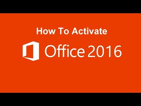 How To Activate Microsoft Office 2016 | Using KMS AUTO PORTABLE Application