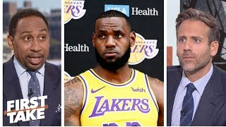 Stephen A. not sold on LeBron being the Lakers