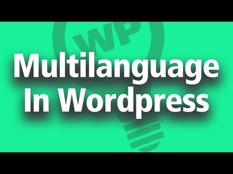 Multi Language Option for Wordpress Sites - Free Option
